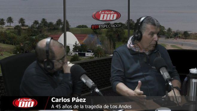 """Carlitos Páez Vilaró: """"Esta historia es muy grande, y se recuerda permanentemente"""""""