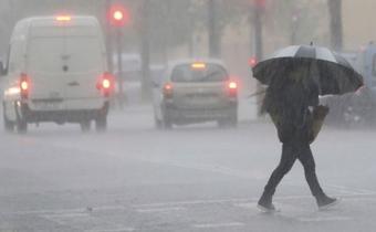 Inumet extiende la advertencia por lluvias y tormentas a casi todo el país