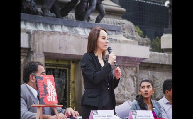 Cuevas Barron fue elegida presidenta de la Unión Interparlamentaria