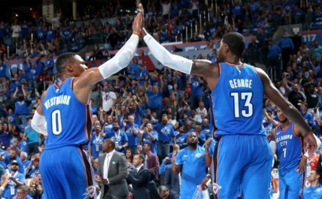 """Westbrook brilla en el """"Big Three"""", gustan los nuevos Clippers, ganan Raptors"""