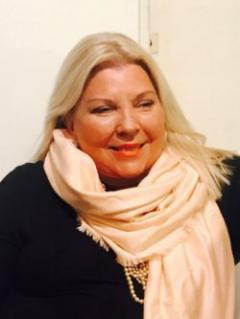 Lilita Carrió, la gran ganadora de las legislativas en Argentina