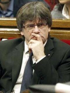 Puigdemont analiza ir al Senado español para rechazar medidas del Gobierno