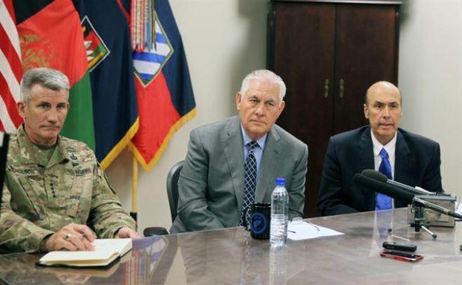 "Tillerson: milicias iraníes en Irak ""deben volver a casa"""