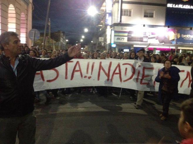 Malos tiempos en Maldonado. Fotos gentileza de Bruno Lazbal