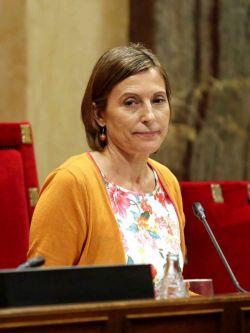 Presidenta de Parlamento catalán asegura que Puigdemont no irá al Senado de España