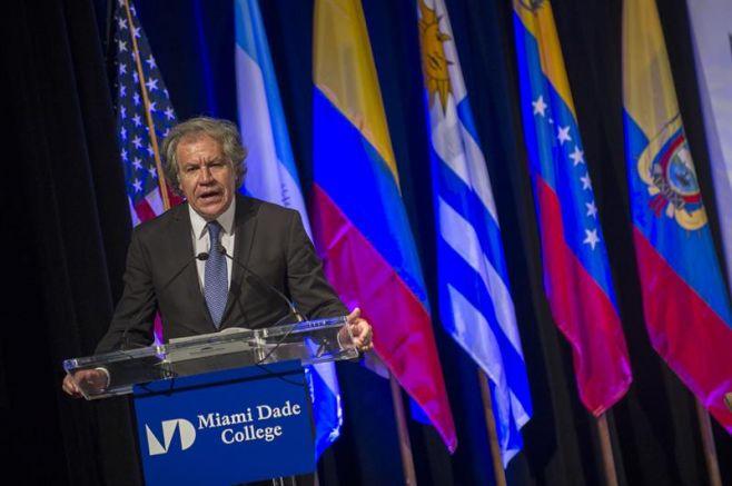 Almagro dice que cifra solicitantes de asilo en América subió 782% en 5 años