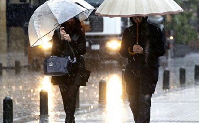 Cambia la advertencia amarilla por lluvias copiosas hacia el sur del país