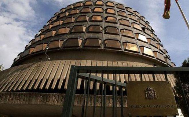 Fachada del edificio del Tribunal Constitucional en Madrid.. Efe
