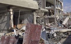Al menos 5 menores muertos por la caída de un cohete en una escuela en Siria