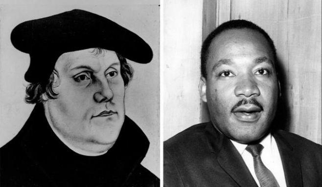 La influencia de Martín Lutero en Martin Luther King