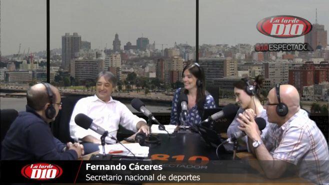 """Fernando Cáceres: """"Hay una deuda grande con nuestro país, que es tener una Ley Nacional del Deporte"""""""