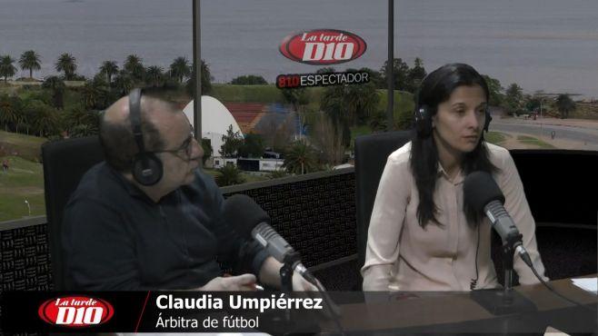 """Claudia Umpiérrez: """"lamentablemente hay cosas que socialmente están aceptadas"""""""