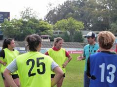 Las Teras aprontan el Sudamericano y la Eliminatoria al Mundial