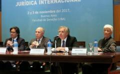 Almagro asistió a congreso con representantes de la justicia argentina