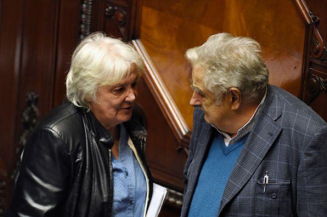 Topolansky no quiere que Mujica vuelva a ser candidato en 2019