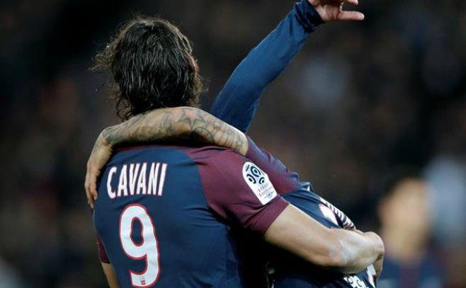 Cavani pasó la centena de goles