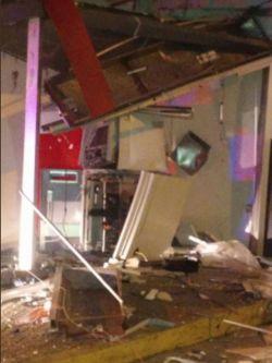 Policía investiga tres explosiones a cajeros automáticos en una semana