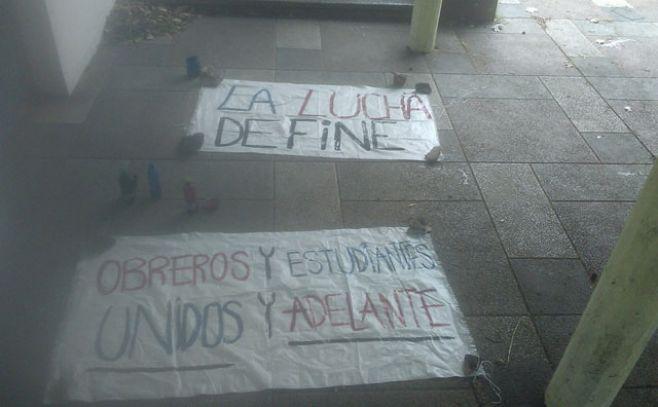 Gremio estudiantil ocupa el Liceo Dámaso y denuncia acoso de un profesor