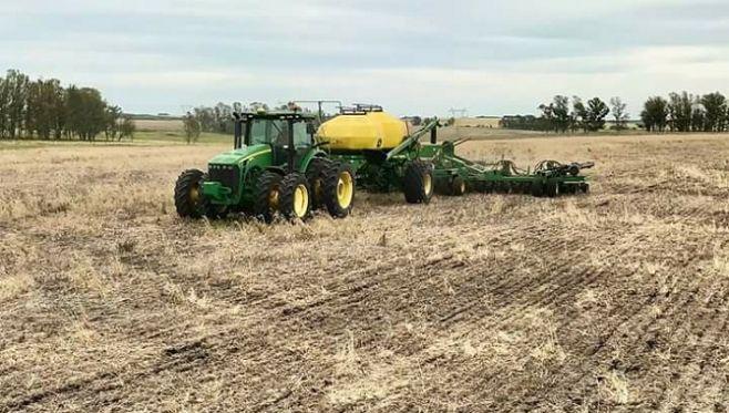 Soja: a toda máquina, avanzan las siembras
