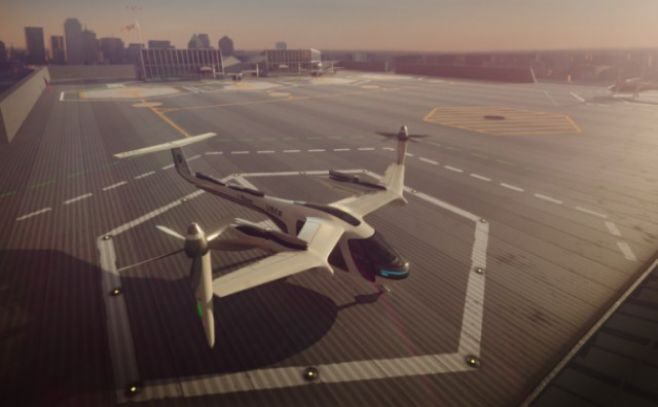 Uber quiere desarrollar taxis aéreos para 2020