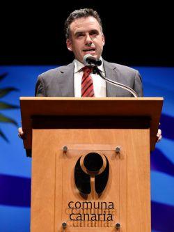 Yamandú Orsi, intendente de Canelones. Foto: Nicolás Celaya/adhoc