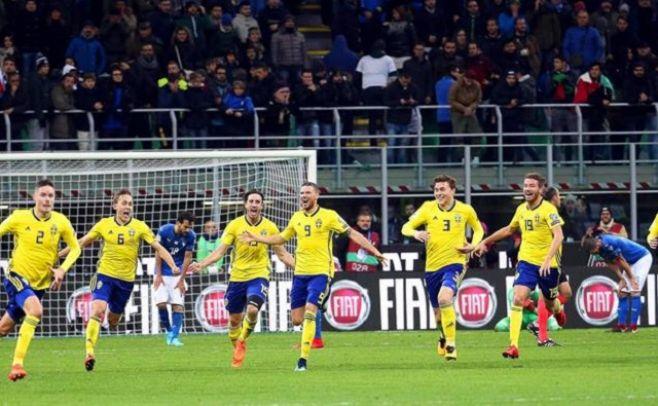 Sorpresa: Suecia al Mundial, Italia afuera