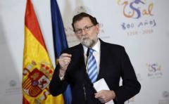 """Rajoy subraya que suspendió el Gobierno catalán tras agotar """"todas las vías"""""""