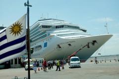 Temporada de cruceros en Uruguay deja entre 10 y 15 millones de dólares