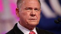 Lluvia de acusaciones de acoso sexual contra el republicano Roy Moore