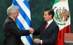 "Vázquez anunció ""avances concretos� en la exportación de leche en polvo y de carne a México libre de aranceles"