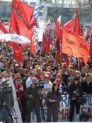 """Paro, concentración y marcha del Pit-Cnt """"a favor de la democracia� y """"contra el neoliberalismo�"""