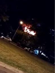 Incendio en edificio de Malvín terminó con una persona internada por intoxicación