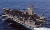 Portaaviones USS Ronald Reagan en el Océano Pacífico
