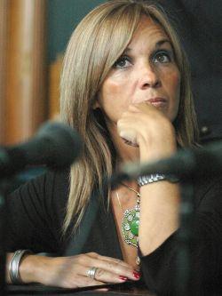 Beatríz Argimón, secretaria del Directorio del Partido Nacional. Foto: Ricardo Antúnez/ Adhoc