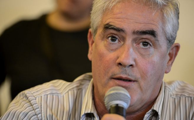 Agustín Bascou, intendente de Soriano. Foto: Santiago Mazzarovich/ Adhoc