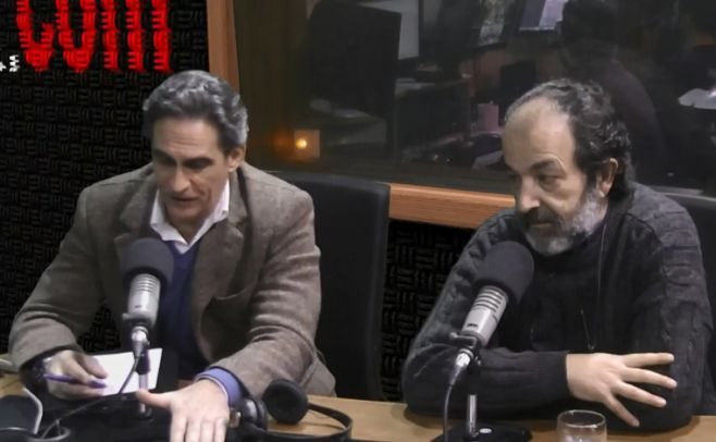 Medardo Manini  y Marcelo Pereira. Foto de archivo