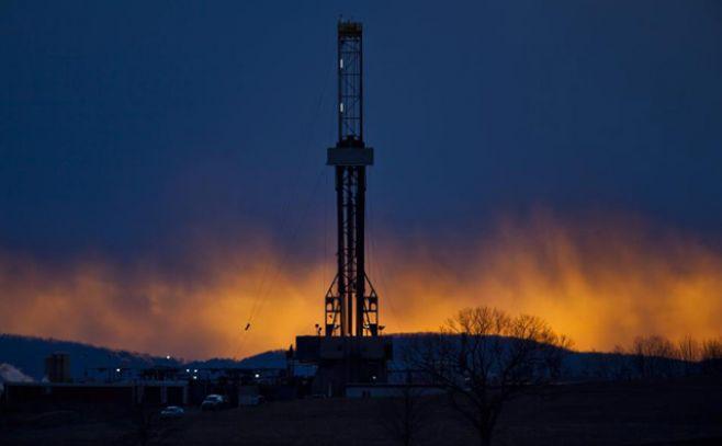 Instalación del fracking. Imagen ilustrativa. . Efe