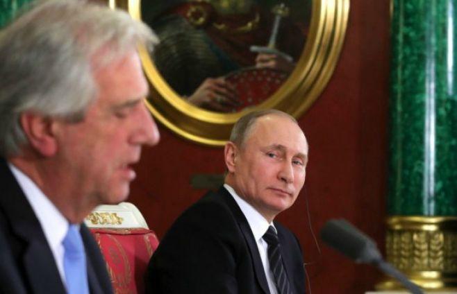 Lavrov destacó el buen estado de las relaciones entre Rusia y Uruguay