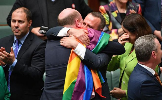 Australia legalizó el matrimonio homosexual. Efe