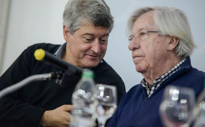 Rafael Michelini, Danilo Astori. Foto: Santiago Mazzarovich/Adhoc