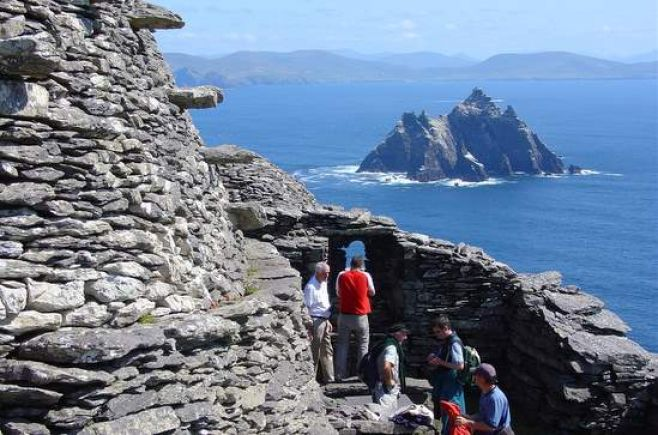 """Irlanda promociona sus paisajes en """"Star Wars"""" con una """"campaña espacial"""""""