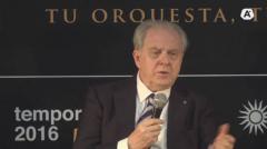 """Italiano Gamba, """"entusiasmado"""" por cerrar el año con la Sinfónica de Uruguay"""
