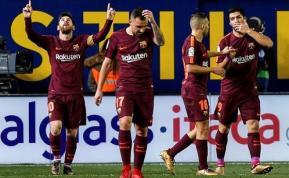 Barcelona puntero; ganaron todos los de arriba