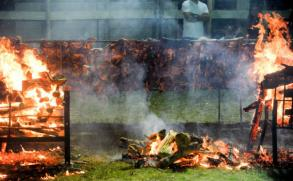 Uruguay se quedó con el Guiness por el asado con cuero más grande el mundo