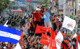 Honduras: protestas y acusaciones de engaño a UE, OEA y EE.UU.