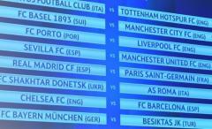 Real Madrid-PSG y Chelsea-Barcelona, los bombazos de octavos de final