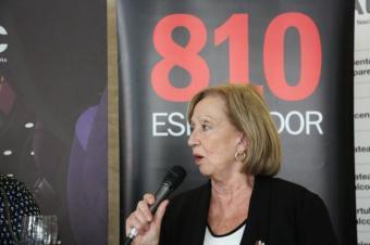 """María Julia Muñoz: """"Todos los problemas se solucionan con la educación o con la cultura�"""