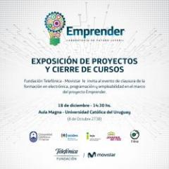 """Proyecto de empleabilidad de Fundación Telefónica – Movistar, """"Emprender�."""