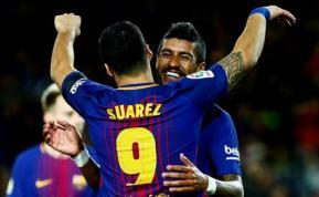 Suárez llegará al clásico con la puntería recuperada