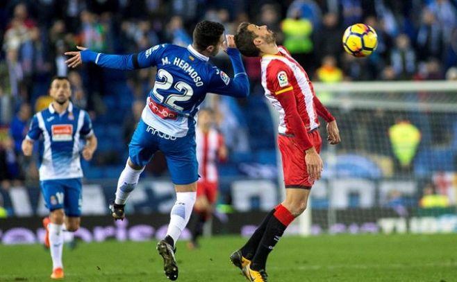 Stuani le dio la victoria al Girona -- . EFE